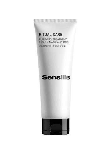 Sensilis SENSILIS Yağlı Ciltler için 2'si 1 Arada Maske & Peeling - Ritual Care 2 in 1 Mask&Peel 75 ml Renksiz